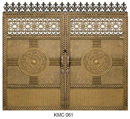 Cổng biệt thự đẹp,Cổng nhôm đúc đẹp có phong cách riêng cho ngôi biệt thự