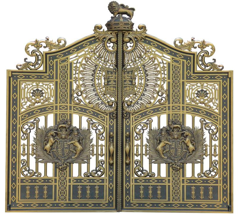 Thi công lắp đặt cổng biệt thự, cổng nhôm đúc tại Hải Phòng