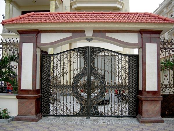Cổng biệt thự đẹp - BT03