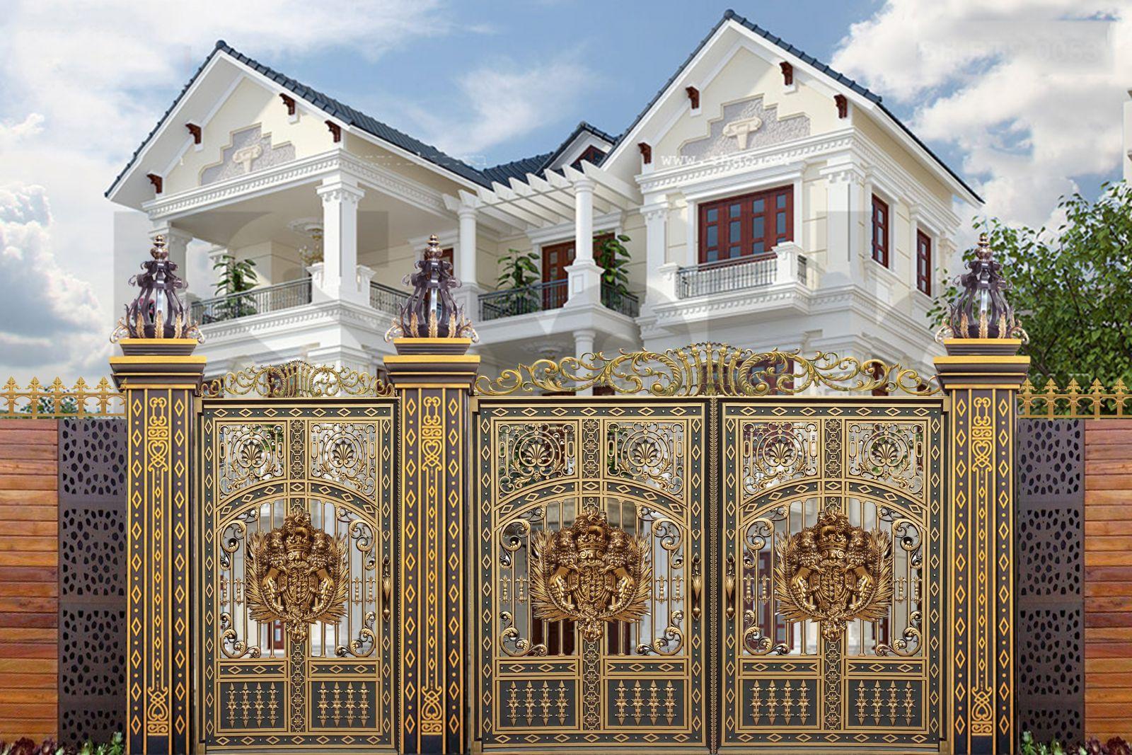 Mẫu cổng biệt thự đẹp - BT26