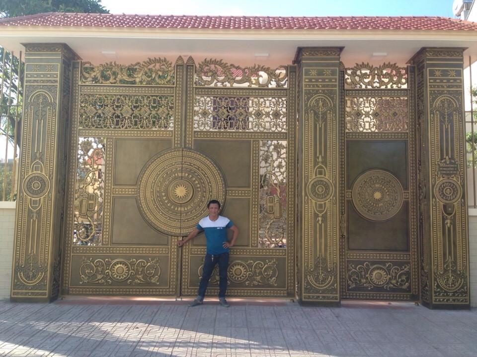 Mẫu cổng biệt thự đẹp - BT27