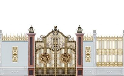 Cổng biệt thự đẹp - BT07