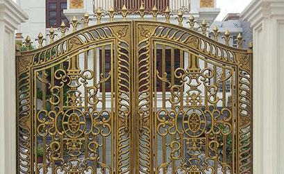 Cổng biệt thự đẹp - BT09