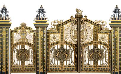 Mẫu cổng biệt thự đẹp BT28