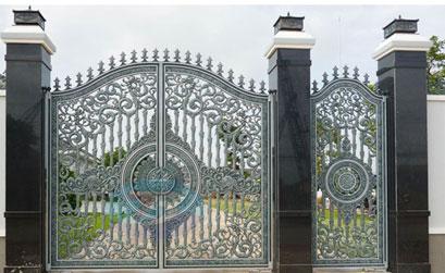 Cổng biệt thự đẹp - BT12