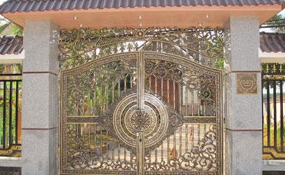 Cổng biệt thự đẹp - BT14