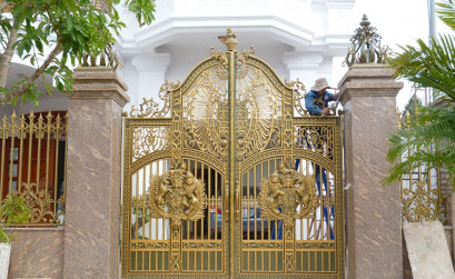 Cổng biệt thự đẹp - BT15