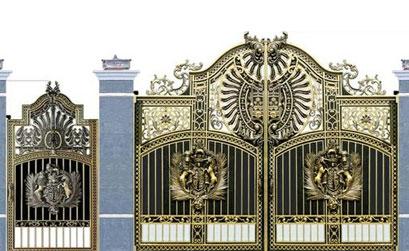 Cổng biệt thự đẹp - BT11