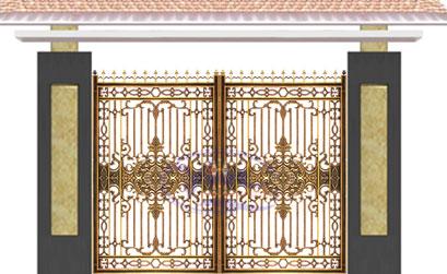 Cổng biệt thự đẹp - BT21
