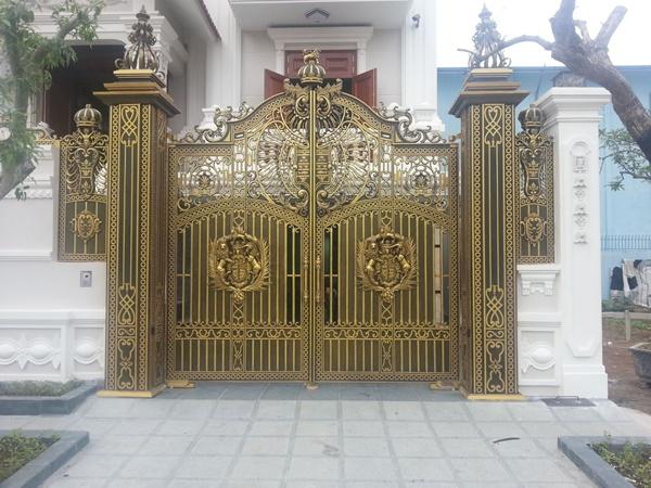 Cổng nhôm đúc Nam Định