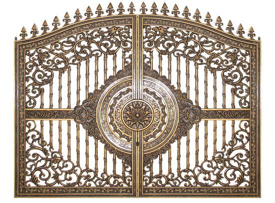 Mẫu cổng nhôm đúc - CN14