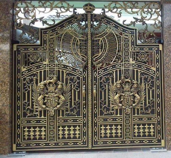 Mẫu cổng nhôm đúc-CN49