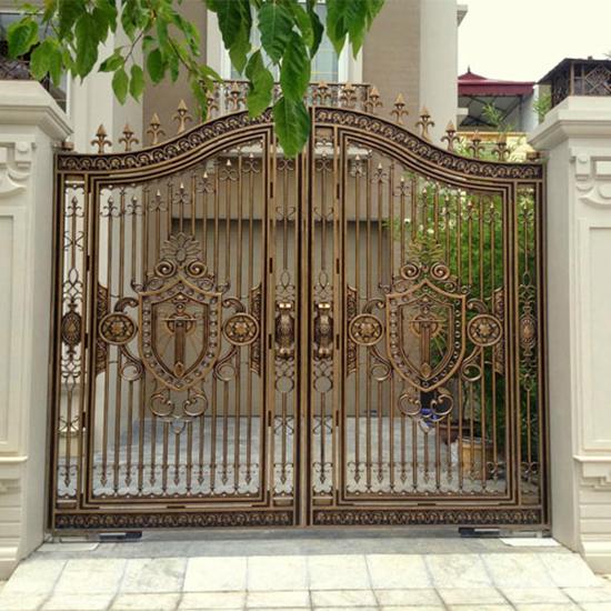 Mẫu cổng nhôm đúc - CN04