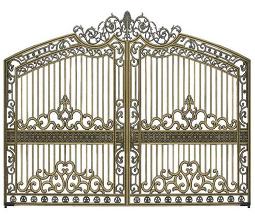 Mẫu cổng nhôm đúc - CN13