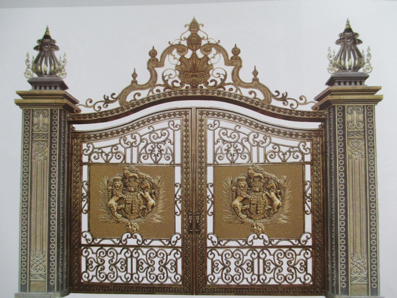 Mẫu cổng nhôm đúc - CN20