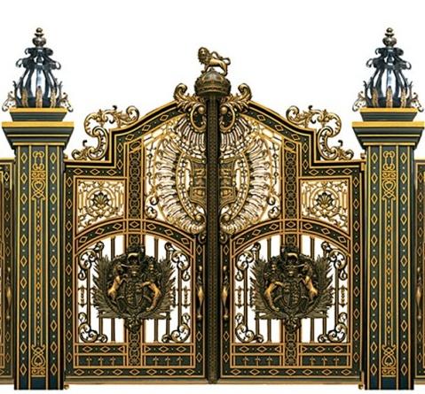 Mẫu cổng nhôm đúc - CN21