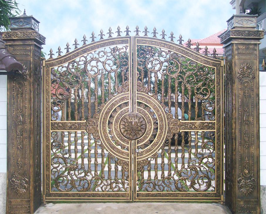 Mẫu cổng nhôm đúc - CN24