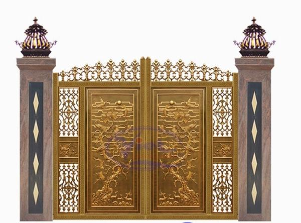Mẫu cổng nhôm đúc - CN36