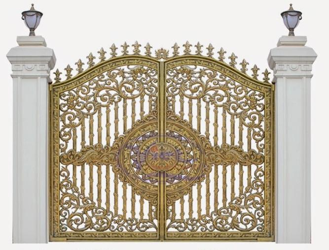 Mẫu cổng nhôm đúc - CN37