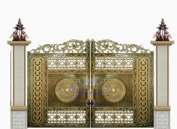 Mẫu cổng nhôm đúc - CN38