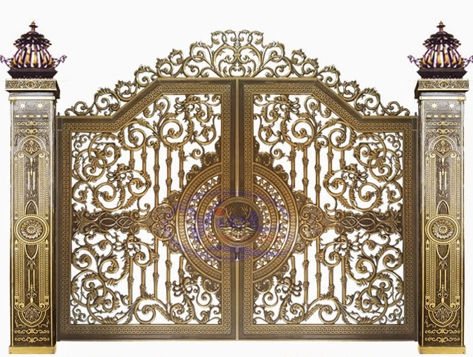 Mẫu cổng nhôm đúc - CN39