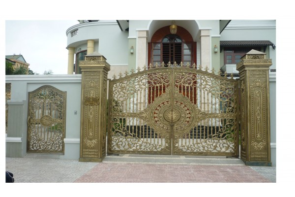 Mẫu cổng nhôm đúc - CN26