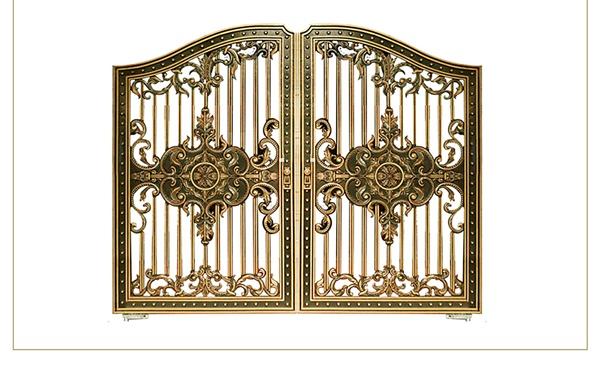 Mẫu cổng nhôm đúc - CN09