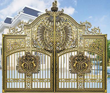 Mẫu cổng nhôm đúc - CN11