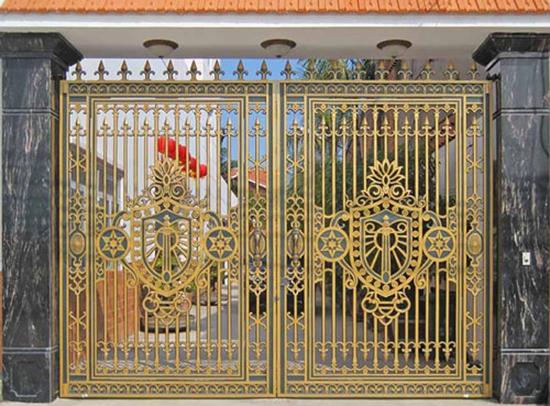 Mẫu cổng nhôm đúc - CN12