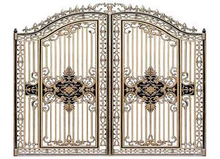 Mẫu cổng nhôm đúc - CN19