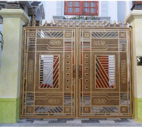 Mẫu cổng nhôm đúc - CN18