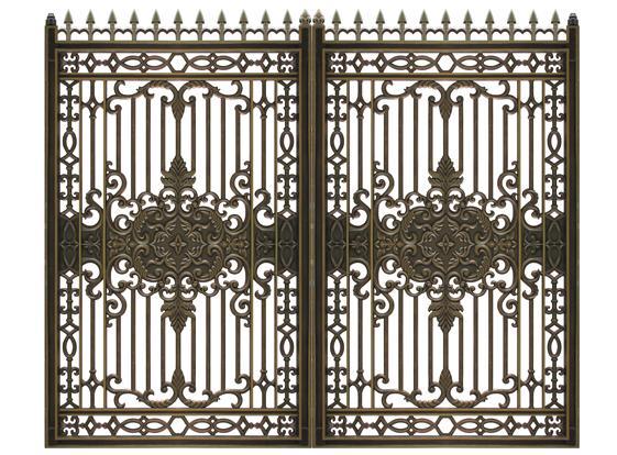 Mẫu cổng nhôm đúc - CN15