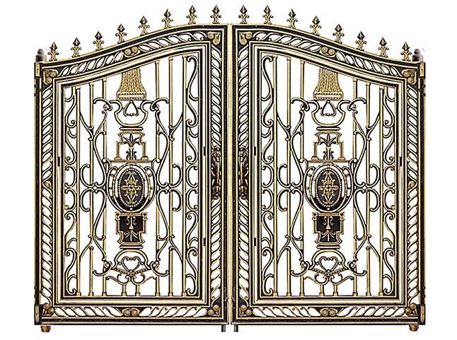 Mẫu cổng nhôm đúc - CN16