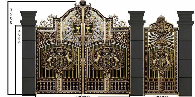 Mẫu cổng nhôm đúc-CN50