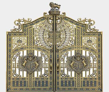 Cổng nhôm đúc - CN01