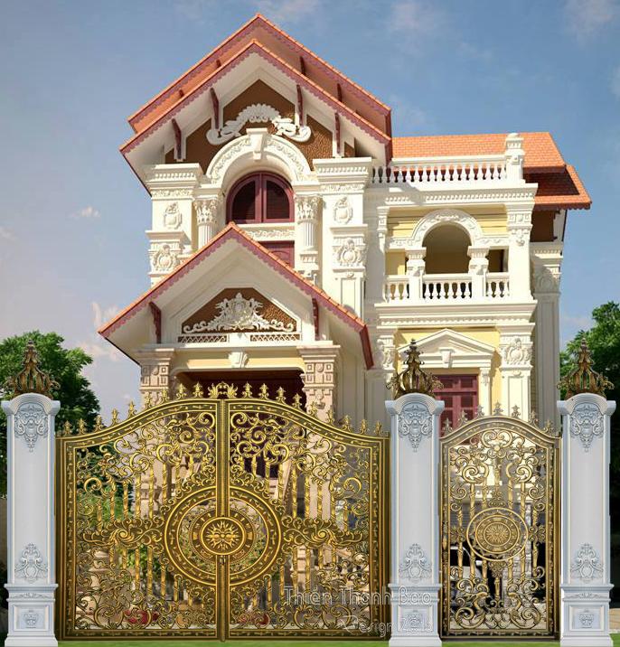 Báo gía cổng nhôm đúc Hà Nội tháng 6/2017