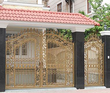 Mẫu cổng nhôm đúc - CN03
