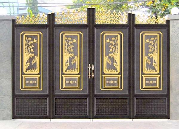 Mẫu cổng nhôm đúc - CN33