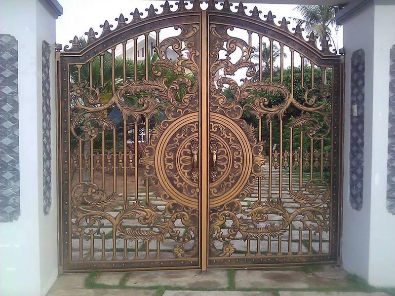 Mẫu cổng nhôm đúc - CN29