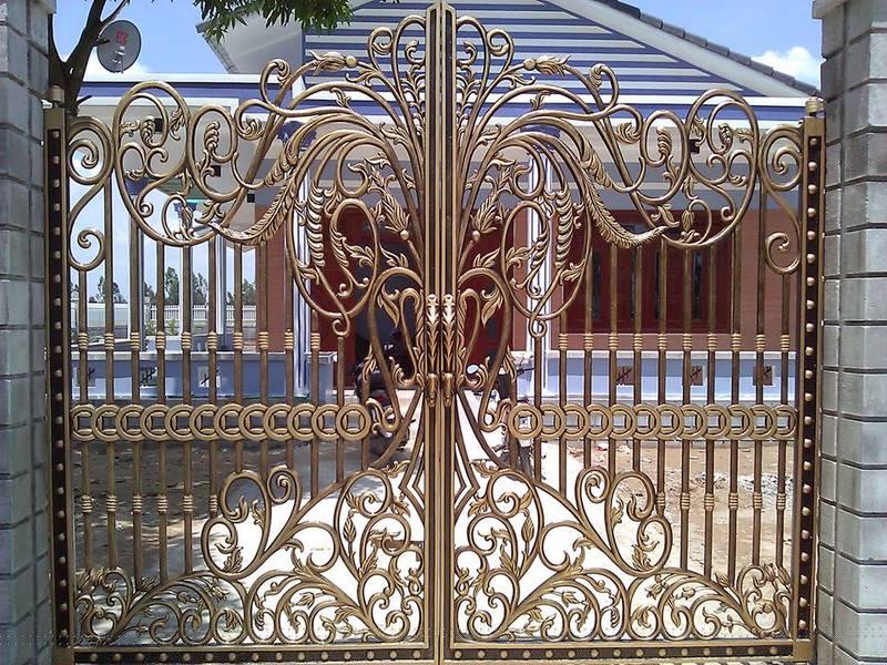 Mẫu cổng nhôm đúc-CN41