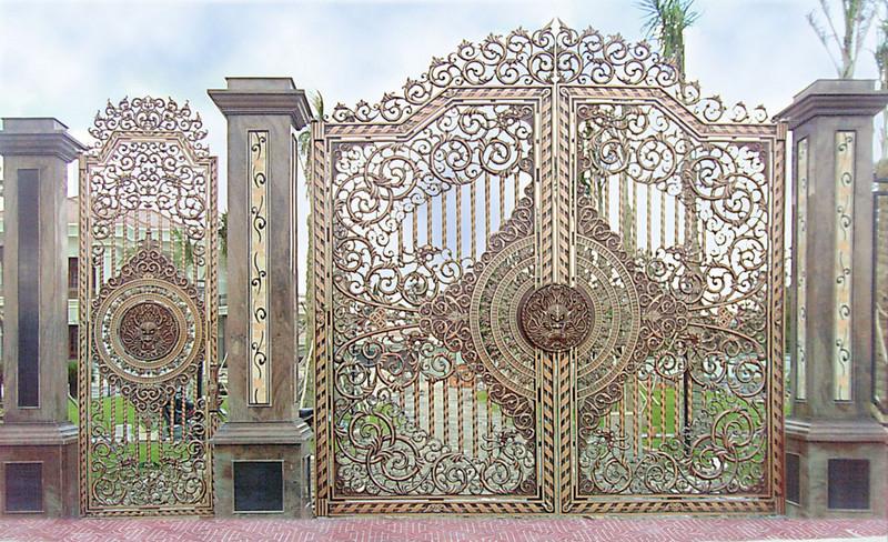 Mẫu cổng nhôm đúc-CN42