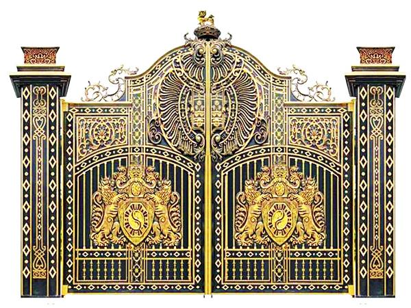 Mẫu cổng nhôm đúc - CN32