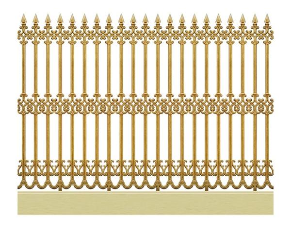 Hàng rào nhôm đúc - H02