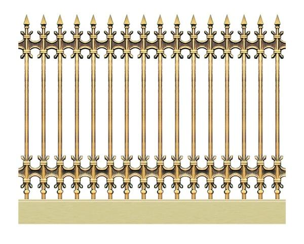 Hàng rào nhôm đúc - H04